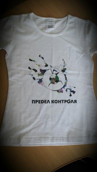 футболка белая