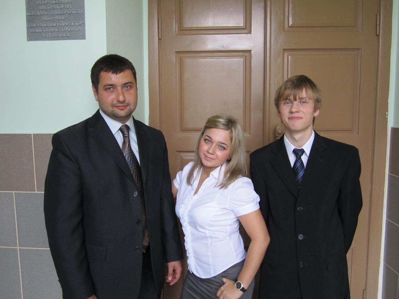 После защиты дипломного проекта, 2011 г