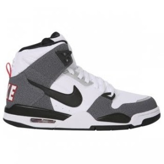 size 40 3d914 65593 Nike Air Flight Condor High White Black-Natural Grey-Vrsty Rd by Nike