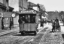 конный трамвай Турку