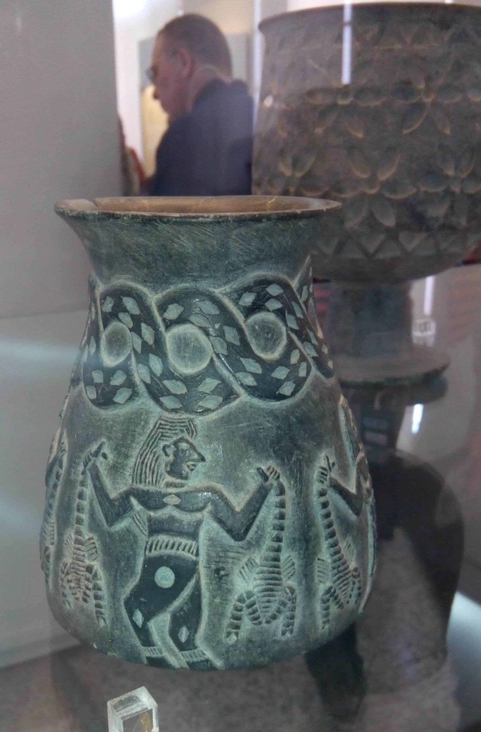 Каменная ваза, стеатит, 3 тысячелетие до н.э.
