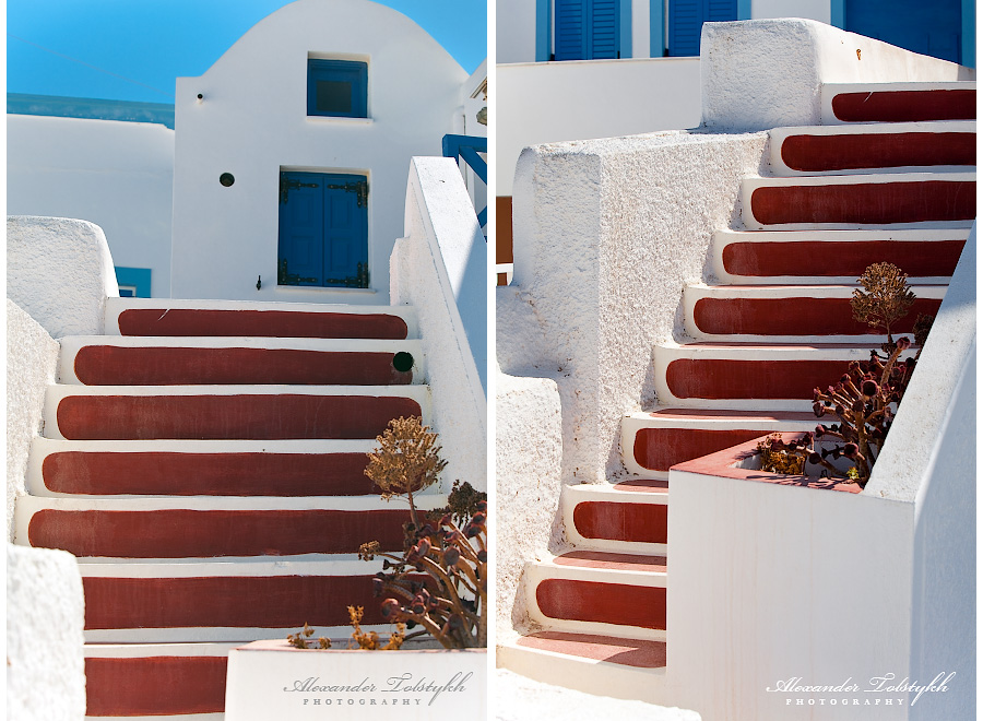 Греция. Санторини. Ойа