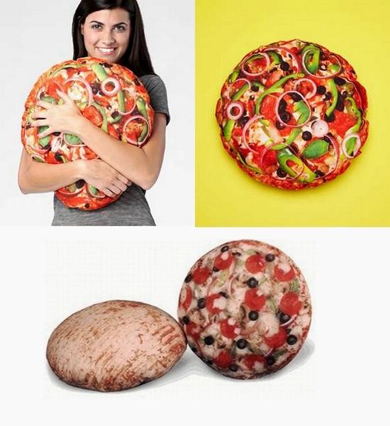 подушка-пицца