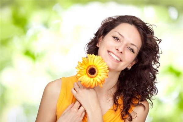 Счастливая Женщина фотошоп