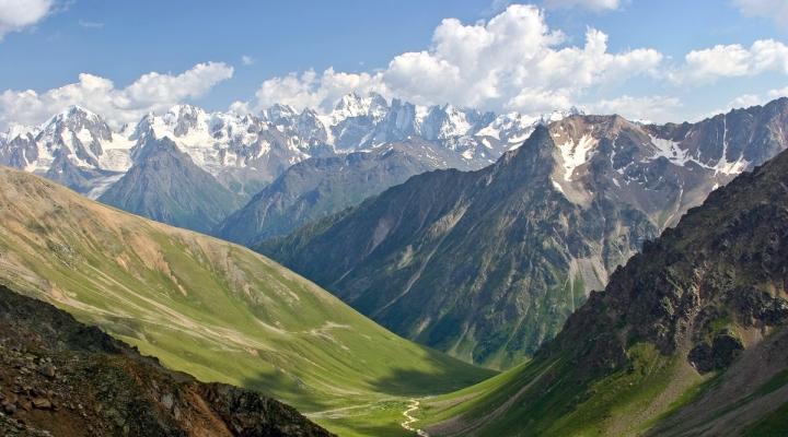 Наши прекрасные горы..