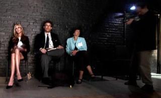 Al Franken and Ann Coulter