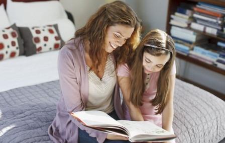 Ребёнок привыкает к чтению