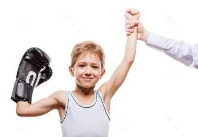 Ребёнок стал спортсменом
