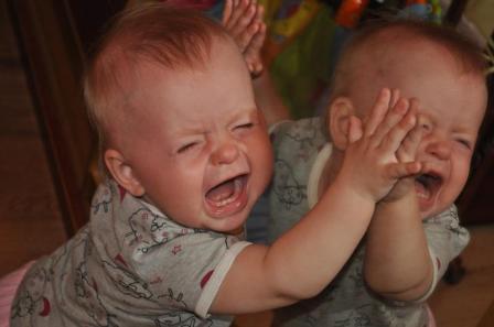 Семейные ссоры с отражением