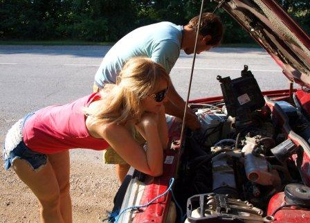 Автомобиль может сломаться