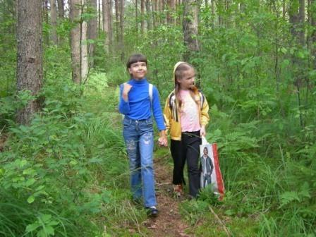 Прогулка по лесу