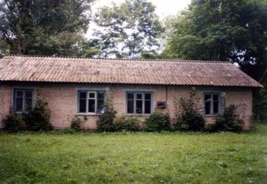 Бывшее колхозное здание в Березовке