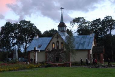 Новый костел в д. Березовка