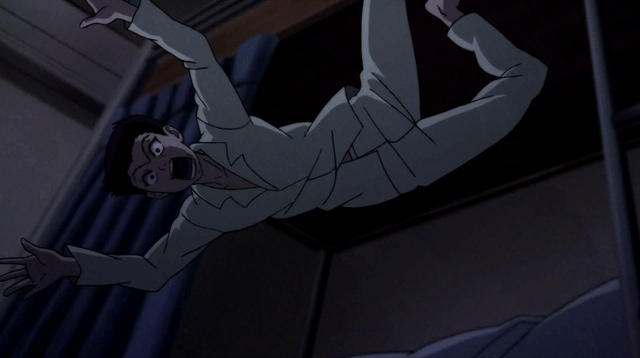 Horio falling out of bed