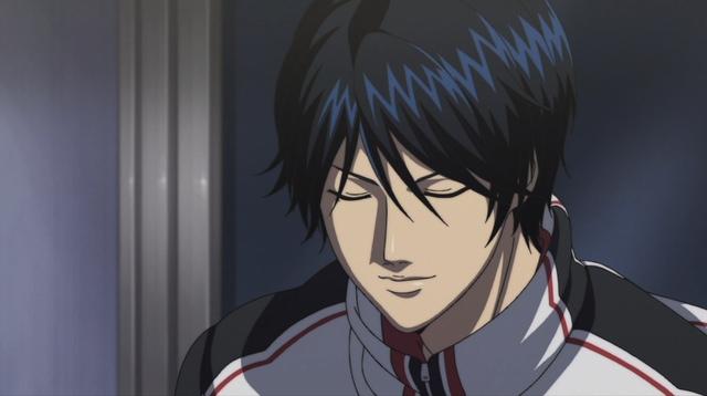 Tokugawa smiling