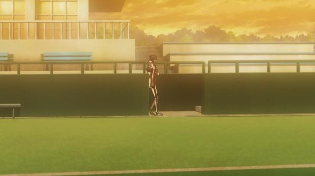 Yukimura standing alone