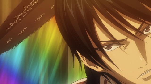 Tokugawa with a rainbow