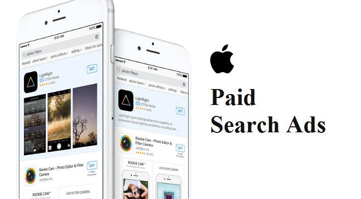 Apple Introduces Paid Search Ads