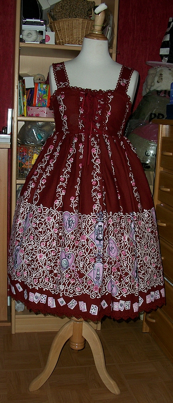 Beardsley Rose Alice Print Baby Doll JSK (AatP)