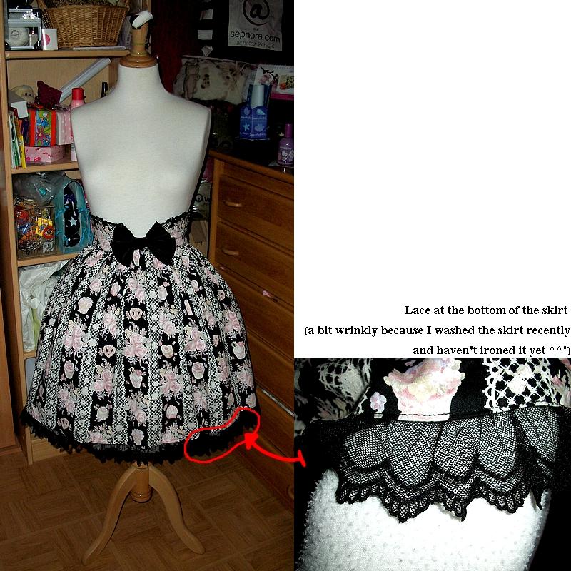 "Princess Honey""s Tea Salon Print Princess Frill SK (BTSSB)"