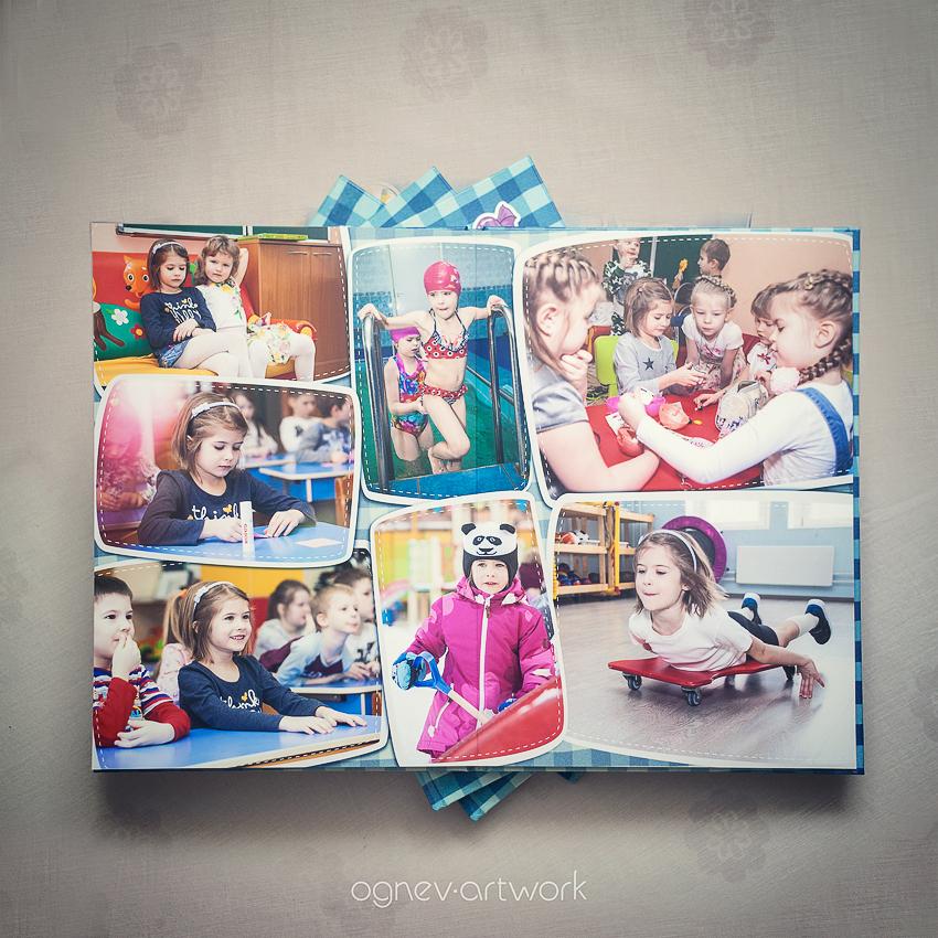 Выпускные альбомы фотография в саду школе детская дети фото фотограф детский Детки-конфетки Москва Ognev ArtWork