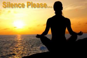 silence-please