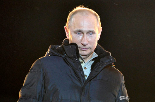 Выборы 2012 Путин слёзы фото
