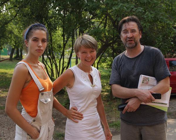 Надя Толокно из Войны , Евгения Чирикова, Юра Шевчук
