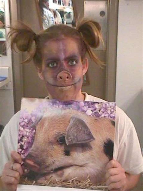Девушка свинья приснилась мне сегодня ночью, к чему бы этот блятский сон фото