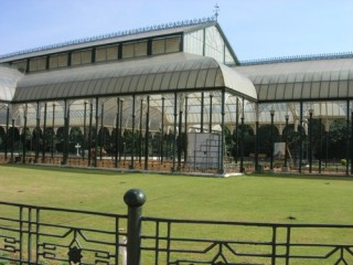 Glass House at Lalbagh Gardens