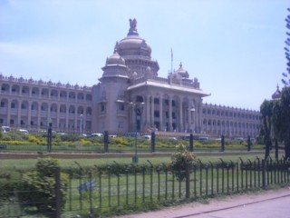 Vidan Soudha - government building in Bangalore