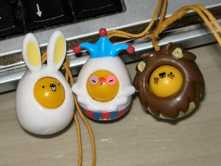 I love Egg phone jangles!