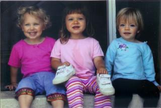 Hallie, Maya, Hannah