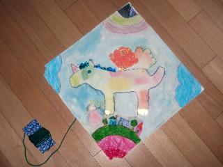 Maya's kite