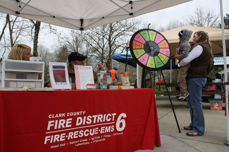 Fire Department Prize Wheel