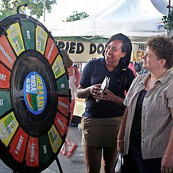 New York Lottery Prize Wheel