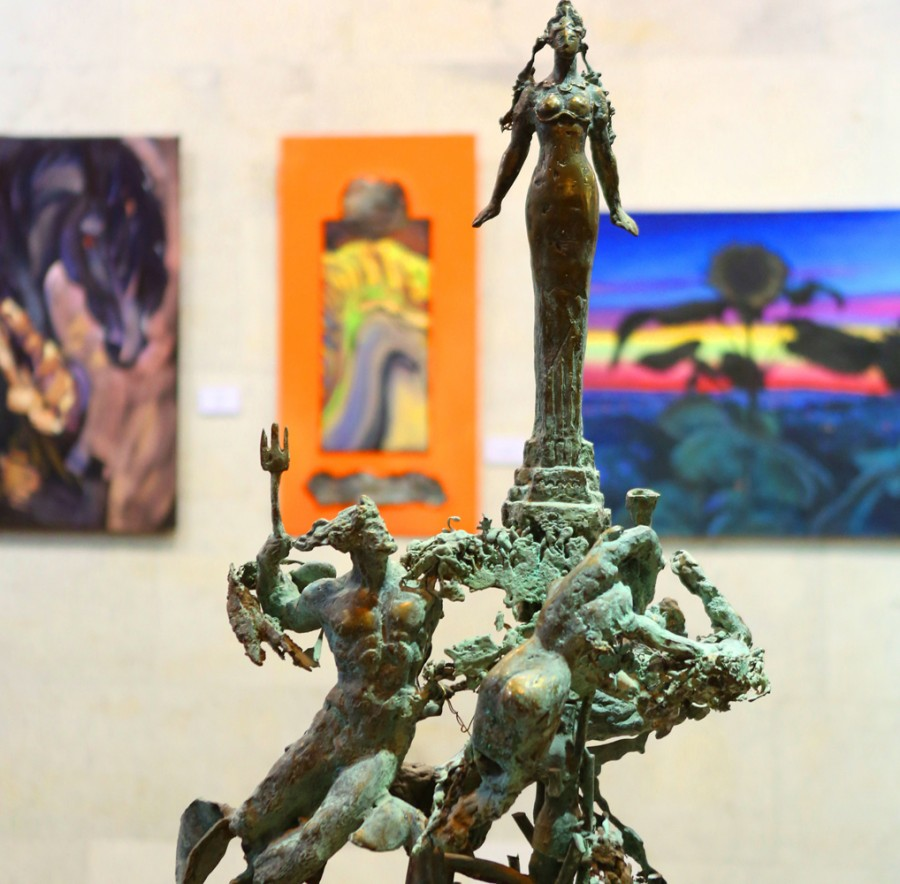Скульптура Николай Зноба