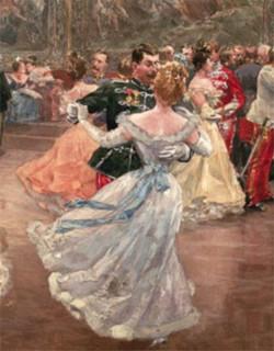 Картинки по запросу пара танцует вальс 19 век