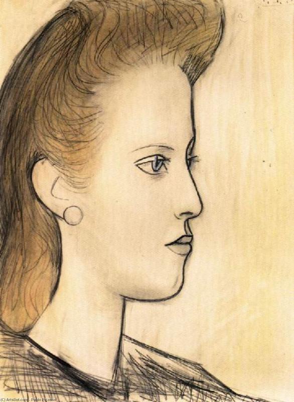 - Портрет мадемуазель Обри