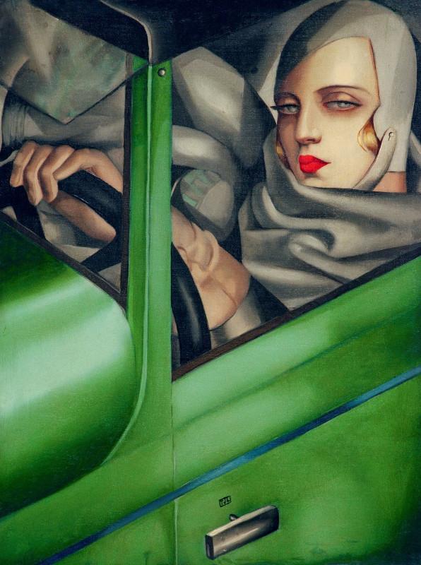 1929_Автопортрет в зеленом бугаттиЧастное собрание