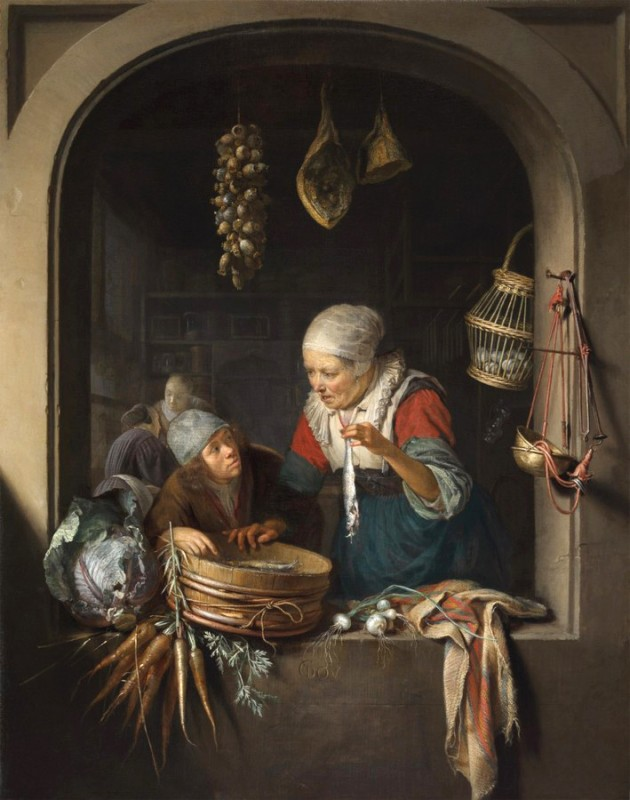 Торговка сельдью