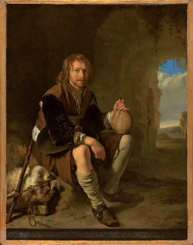 Отдыхающий путник, около 1657