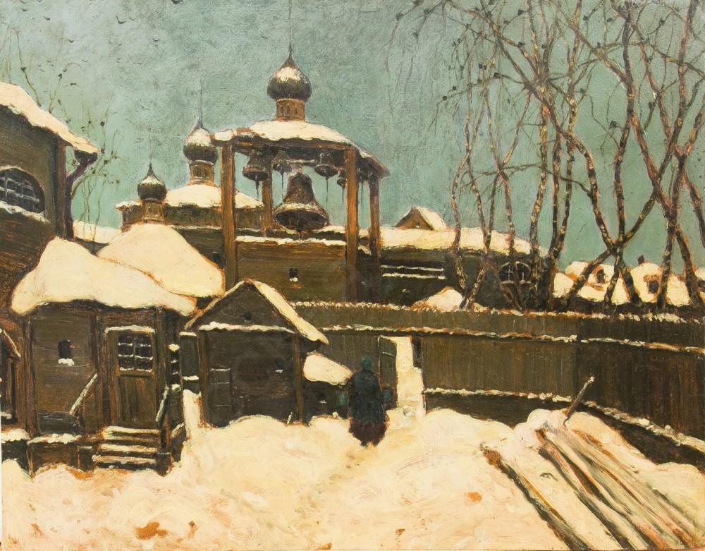 Московский дворик Середина ХХ века