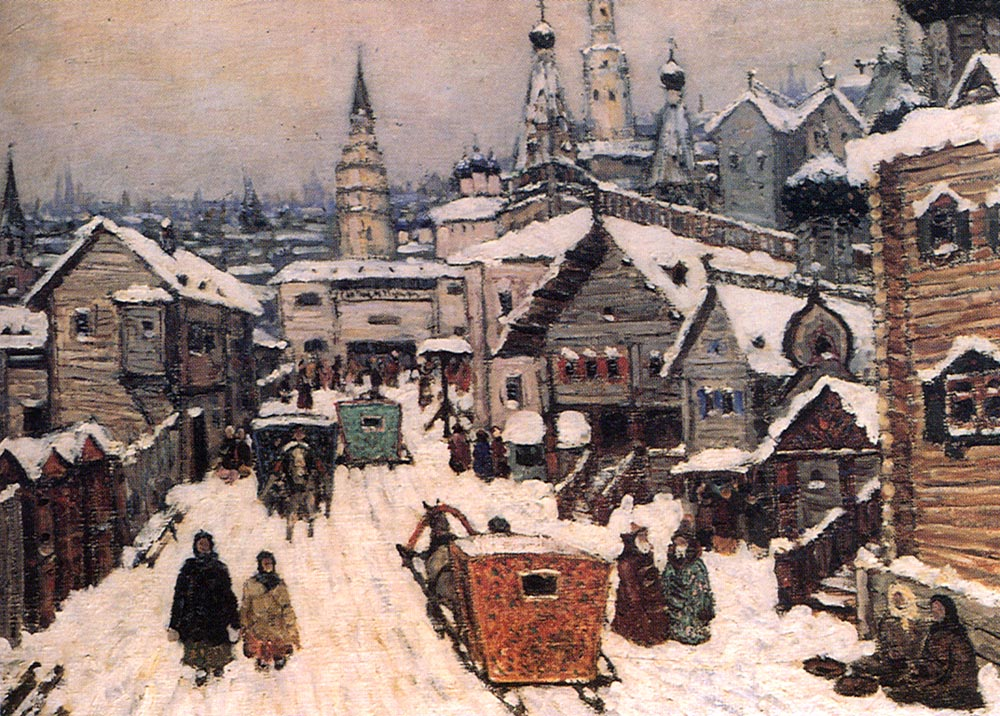 старая Moscow