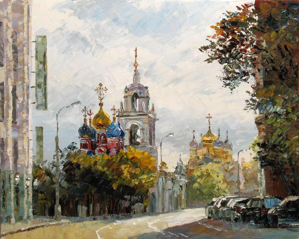 -Москва. Варварка. Церковь Георгия Победоносца.