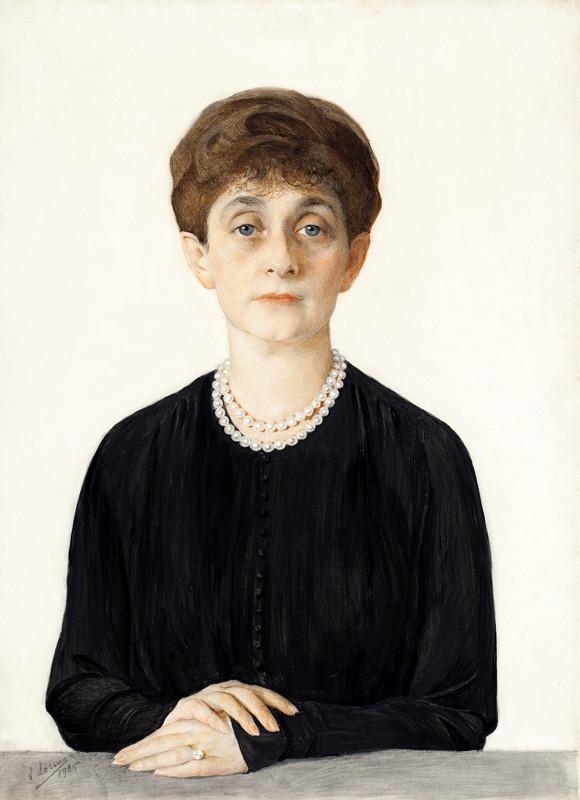 Портрет Аделаиды Кан. 1925