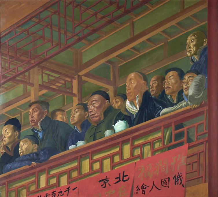 Ложа в пекинском театре