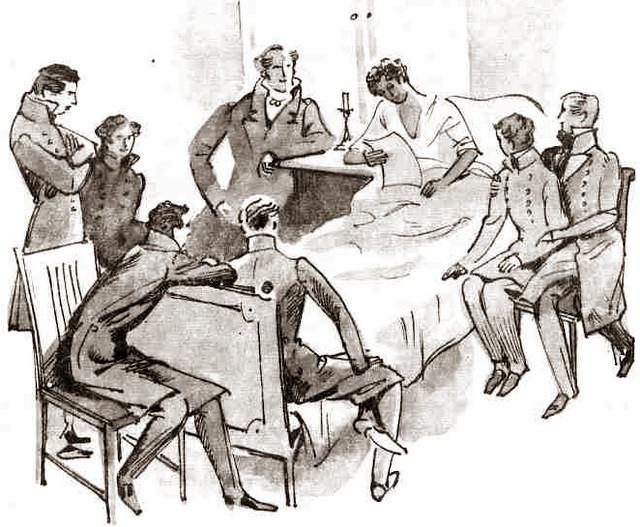 Анат ИТКИН Пушкин заболел
