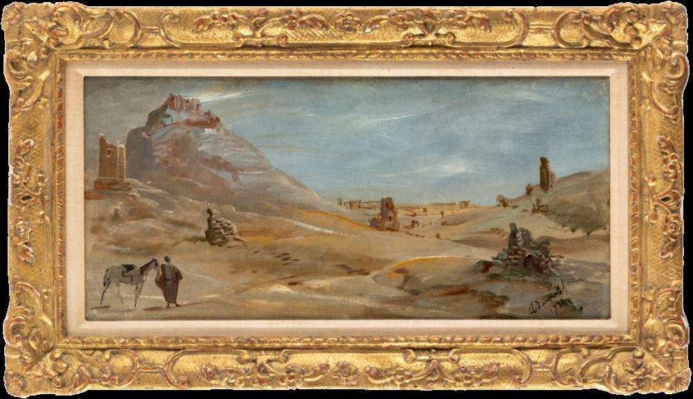 Пустынный Пейзаж- 1931 год