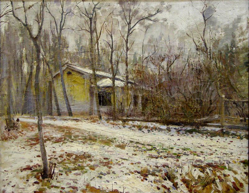 Пейзаж. Желтые листья 1920-гг